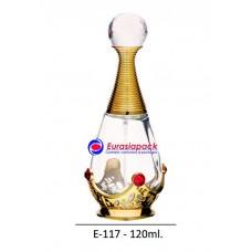 İthal Takım Parfüm Şişesi Kod E117-120ml