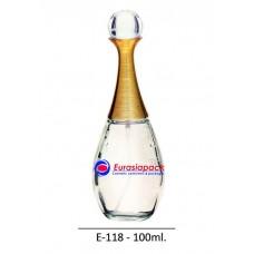 İthal Takım Parfüm Şişesi Kod E118-100ml