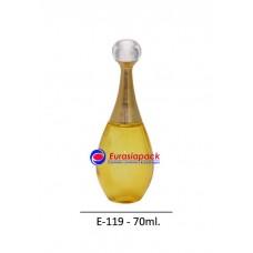 İthal Takım Parfüm Şişesi Kod E119-70ml