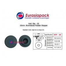 Bromobutyl Rubber Stopper STP-20 20mm