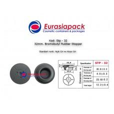 Bromobutyl Rubber Stopper STP-32 32mm