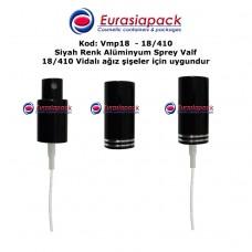 METAL SPREY VALF 18/410 SİYAH RENK